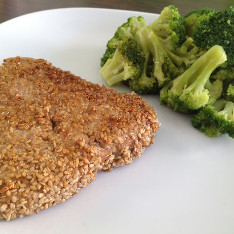 Tuna With A Sesame Seed Crust