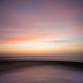 LaJolla Beach Pool by Dean Mayo - Landscapes Beaches ( sunset, dean, mayo, beach, lajolla )