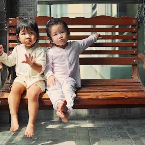 just us by Sandy Boentarya - Babies & Children Child Portraits