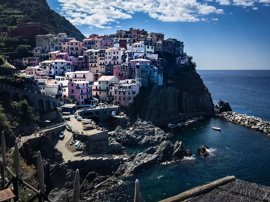 Cinque Terre by Mike Hotovy - Instagram & Mobile iPhone