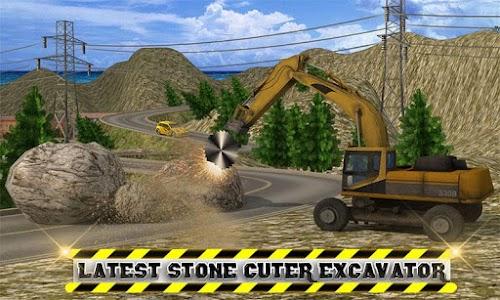 Heavy Excavator: Stone Cutter APK
