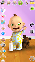 Screenshot of Talking Babsy Baby: Baby Games