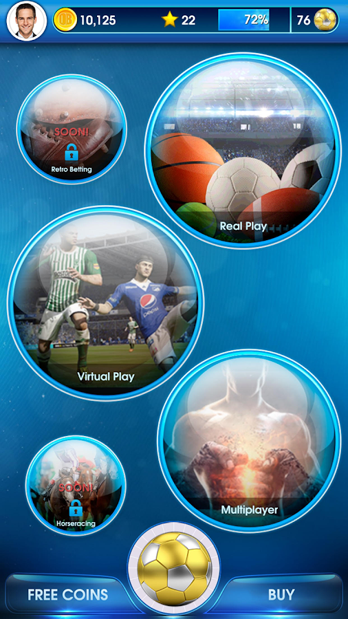 OddsBlast -Sports Betting Game Screenshot 0