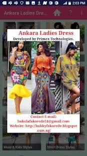 ANKARA LADIES DRESS STYLES 2019 for pc