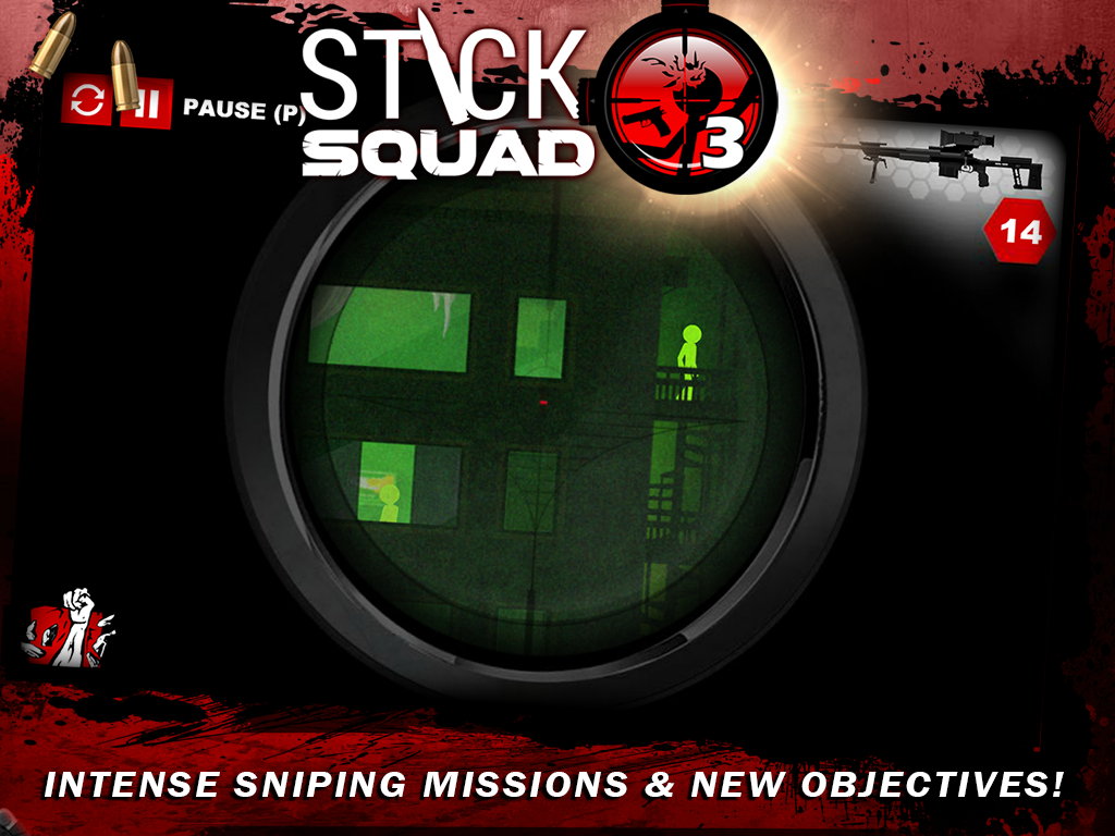 Stick Squad 3 - Modern Shooter Screenshot 6