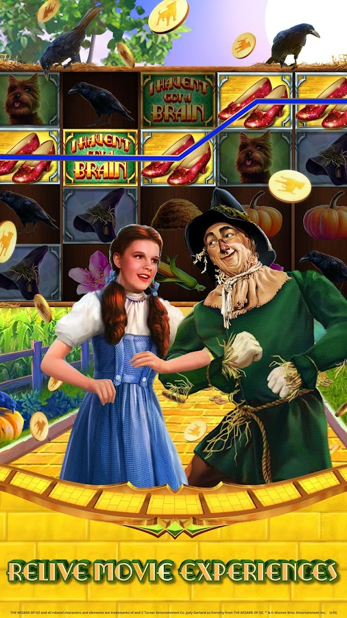Wizard of Oz Free Slots Casino Screenshot 2