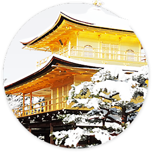 【Snow of KINKAKUJI】