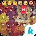 App Autumn Leaves Kika Keyboard APK for Kindle