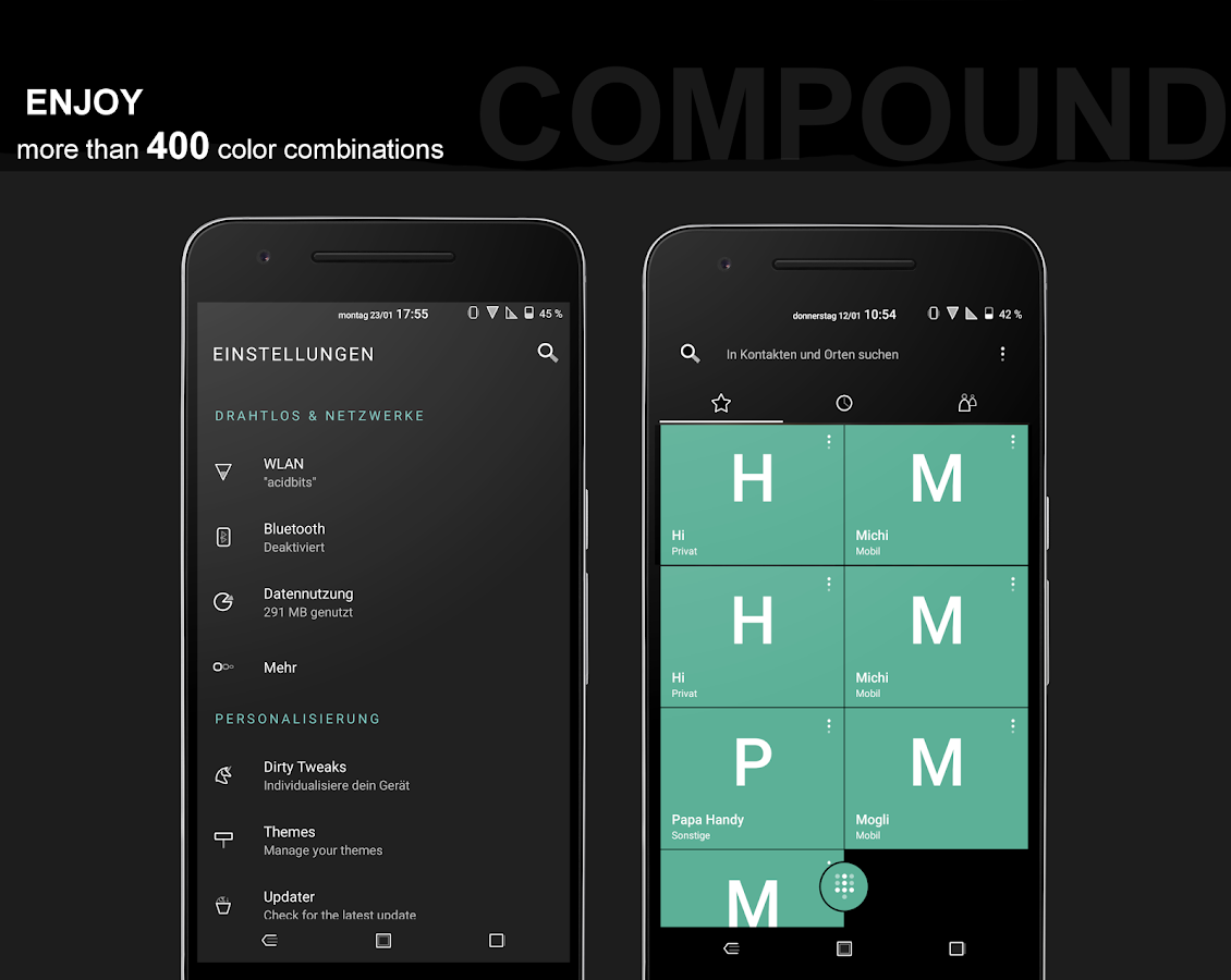 Compound for Substratum (Android Oreo/Nougat) Screenshot 6