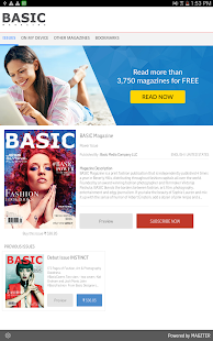 BASIC Magazine - screenshot