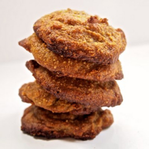 Three Ingredient Flourless Pumpkin Cookies
