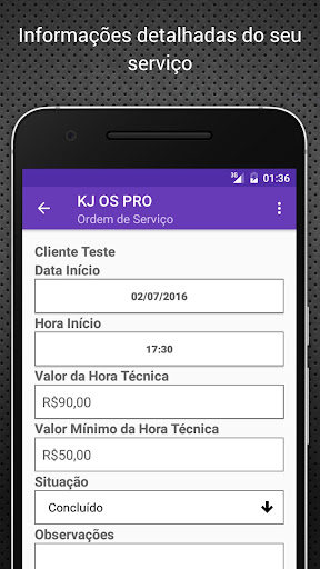 KJ OS Order of Service PRO - screenshot