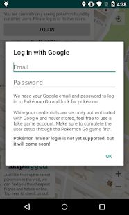 Pokémap Live - Find Pokémon!- screenshot thumbnail