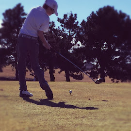 First Tee of The Year by Henry Golden - Sports & Fitness Golf