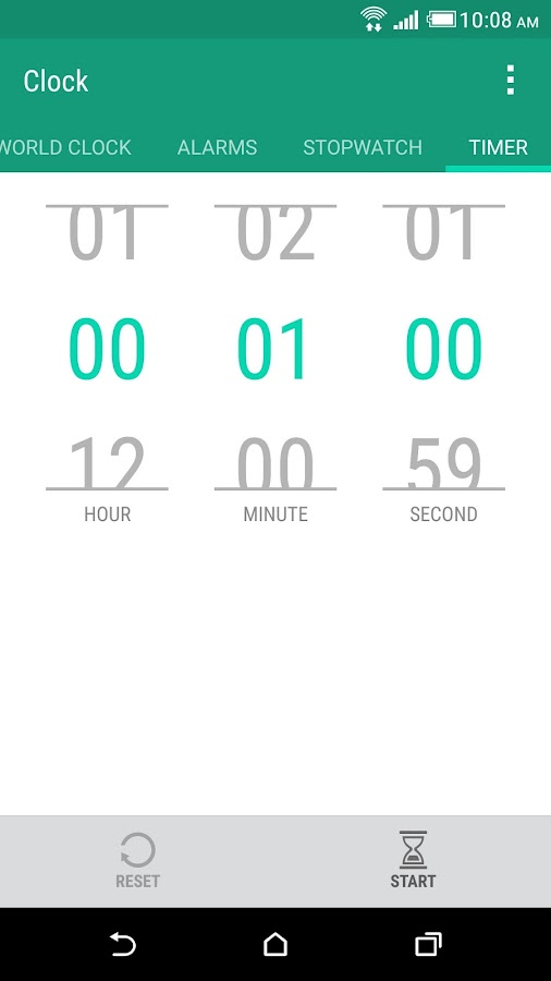 HTC Clock Screenshot 3