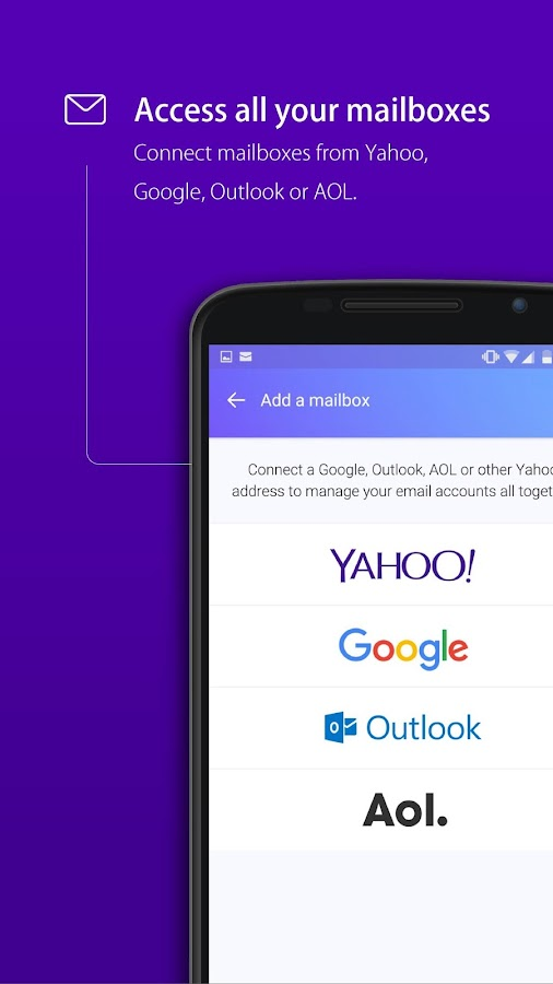 Yahoo Mail – Stay Organized Screenshot 0