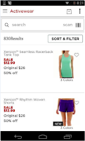 Screenshot of JCPenney