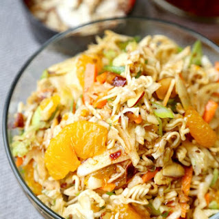 Ramen Noodle Coleslaw Salad Recipes