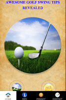 Screenshot of Golf Swing Tips Revealed