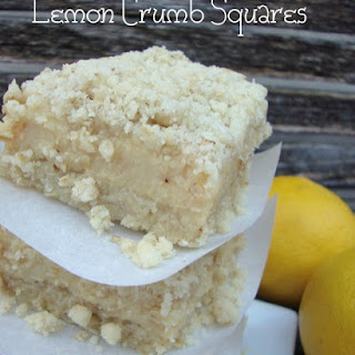 Lemon Crumb Squares Recipes
