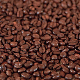 Coffee Overloaded by Sherry Hallemeier - Food & Drink Alcohol & Drinks ( photograph, coffee beans, coffee, art, acrylic, canvas, totes, kitchen, morning, close up, photo, photography, artwork, macro, metal, poster, artistic, brown, metallic, artistic objects, prints, towels, pillows,  )