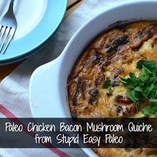 Chicken Mushroom Quiche Recipes