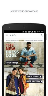 Free AJIO Online Shopping App APK for Windows 8