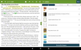 Screenshot of KJV Strong's Bible+