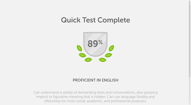 Duolingo English Test APK screenshot thumbnail 13