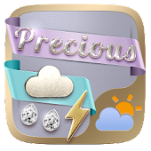 Precious Weather Widget Theme