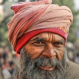 The Sage by Rakesh Das - People Portraits of Men