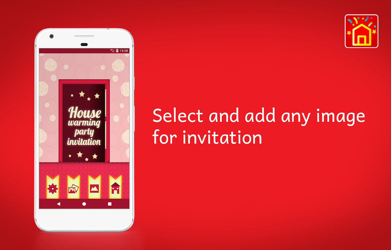 House warming party invitation card maker apk 107 download free house warming party invitation card maker apk stopboris Image collections