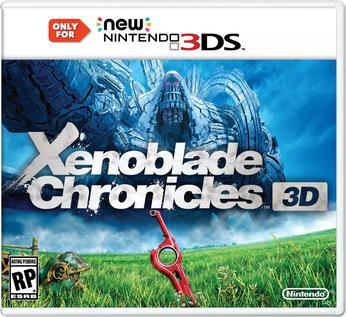 Xenoblade Chronicles 3D - box art