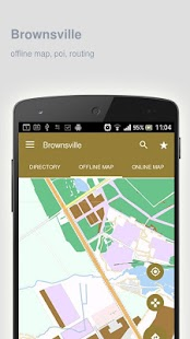 Brownsville Map offline - screenshot