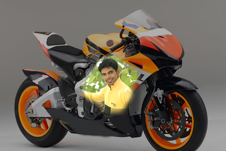 Photo Print on Bike - screenshot