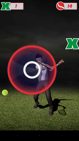 android Veemee Avatar Tap Tennis Screenshot 4