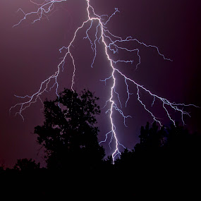 Anger by Brian Young - Landscapes Weather ( lightning, bolt, nature, weather, storm )