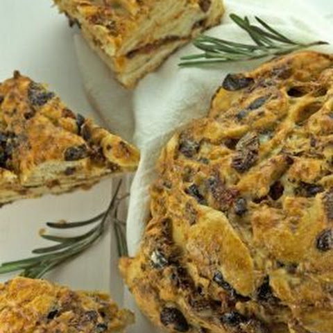 Black Olive & Tomato Bread