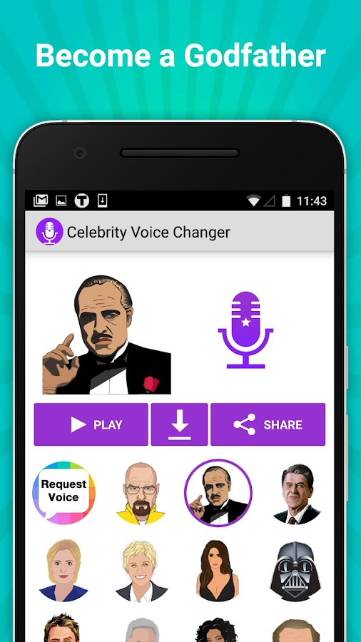 Celebrity Voice Changer Fun FX Screenshot 5