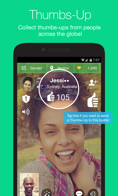 Azar-Video Chat&Call,Messenger Screenshot 2