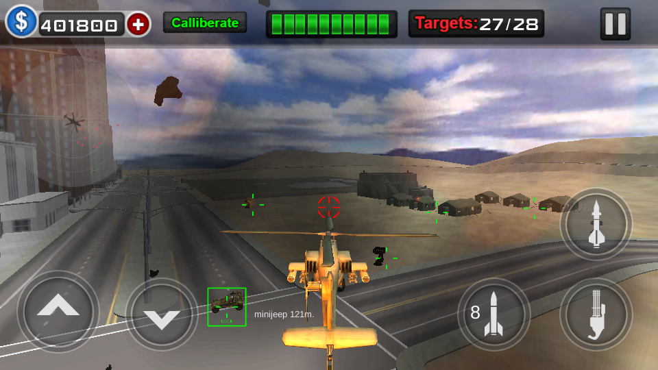 Gunship Air Battle Screenshot 4