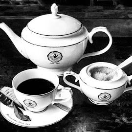 by Abdul Rehman - Black & White Objects & Still Life