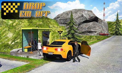 Taxi Driver 3D : Hill Station screenshot 4