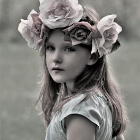 Days in the Field B&W by Cheryl Korotky - Black & White Portraits & People