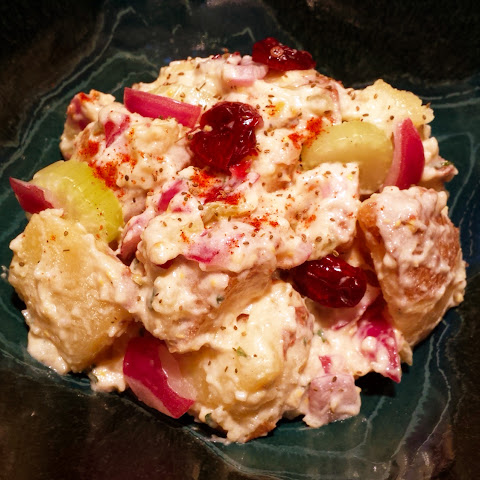Betsy's No Garlic Color Confetti Potato Salad