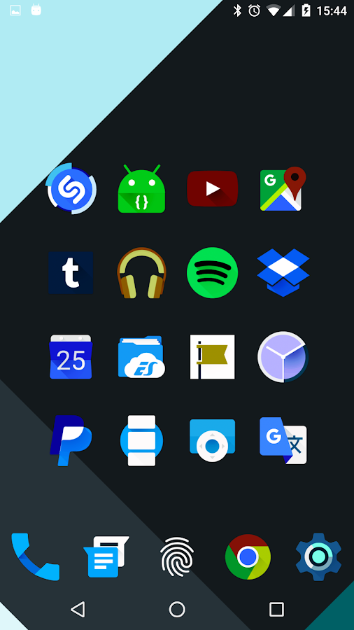 Iride UI is Dark - Icon Pack Screenshot 9
