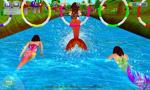 Fancy Mermaid Race Adventures
