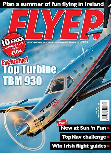 FLYER Magazine - screenshot
