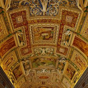 by Darius Apanavicius - Buildings & Architecture Public & Historical ( museum, vatican, italy, Architecture, Ceilings, Ceiling, Buildings, Building )