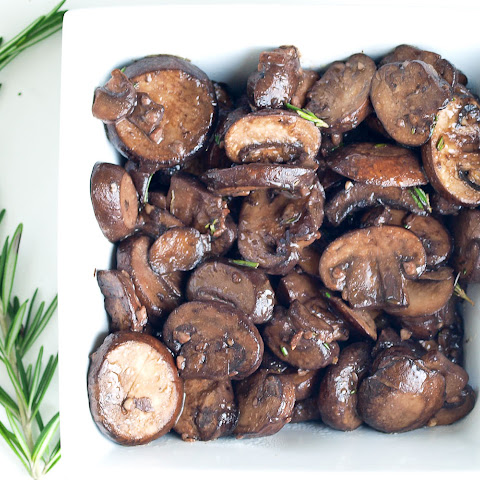 Mushroom Sauté with Rosemary, Garlic, and Red Wine